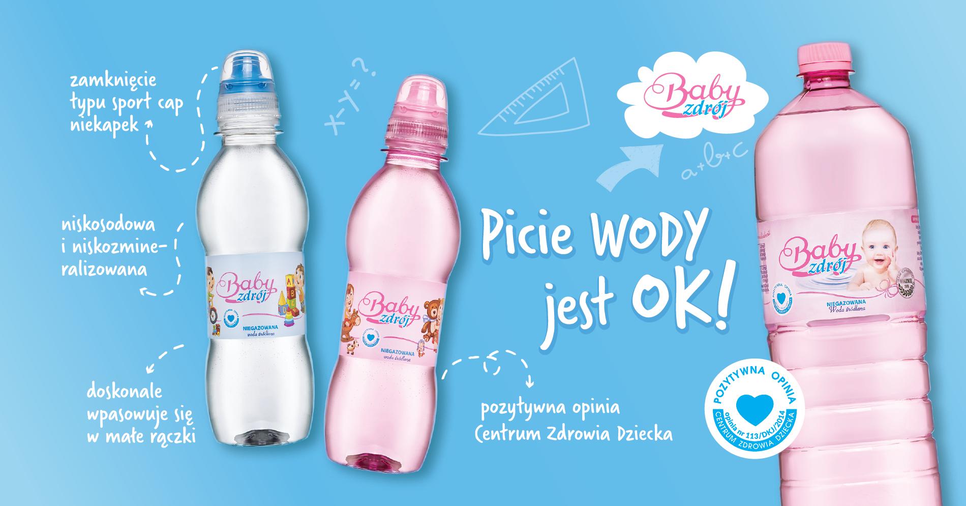 woda Baby Zdrój dla dzieci