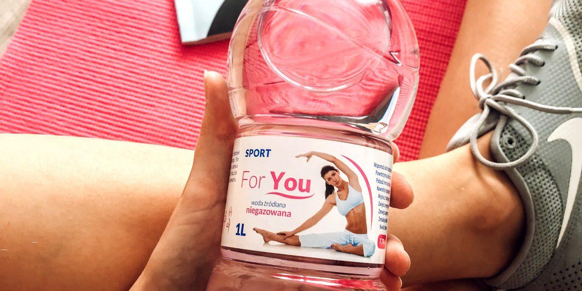 Woda For You SPORT dla kobiet aktywnych